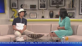 'Cobra Kai' Actor Discusses His Role On KCAL9