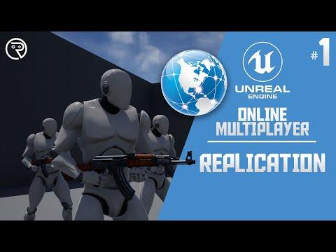 Unreal Engine 4 Tutorial - Online Multiplayer Part 1: Replication