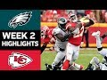 Eagles vs. Chiefs | NFL Week 2 Game Highlights