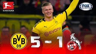 Borussia Dortmund - Colonia [5-1]   GOLES   Jornada 19   Bundesliga