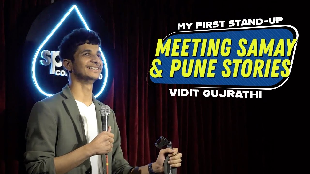 Grandmaster tries Stand up Comedy | Vidit Gujrathi