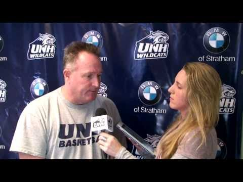 UNH Men's Basketball: Bill Herrion interview on FCS (02/15/14)