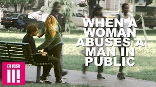 What Happens When A Woman Abuses A Man In Public?