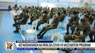4ID NAGHAHANDA NA PARA SA COVID-19 VACCINATION PROGRAM