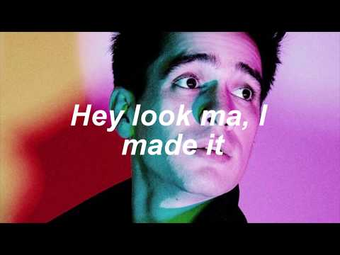 Panic! At The Disco // Hey Look Ma, I Made It - Lyric Video