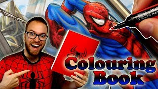 Professional Artist Colors a CHILDRENS Coloring Book..? | Spider-Man | 7