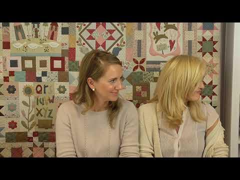 Roberta Live - Porta Aghi da Ricamo della rivista Primitive Quilt Spring 2019
