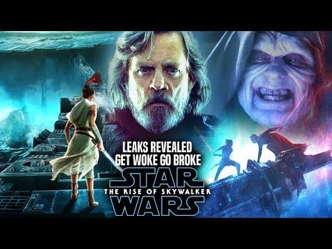The Rise Of Skywalker Leaks Get Woke Go Broke! (Star Wars Episode 9)