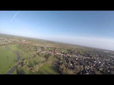 Stony Stratford Buckinghamshire Aerial Video