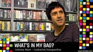 Johnny Marr   What's In My Bag?