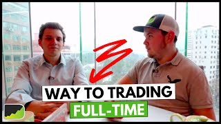 Becoming A Full-Time Algo Trader - Alejandro Perez   Trader Interview