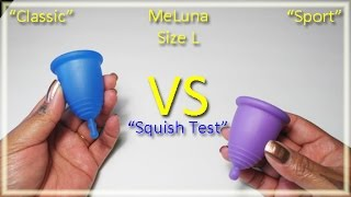 MeLuna Classic vs Sport - Menstrual Cups