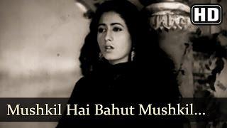Lata - Mushkil Hai Bahut Mushkil - Mahal [1949]
