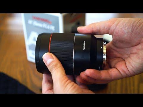 Samyang AF 35mm f/1.4 FE lens review with samples