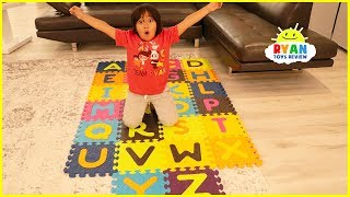 ABC Song Learn English Alphabet for Children with Ryan! | Kids Nursery Rhymes