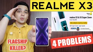 Realme X3 India Launch With 4 Problems | Realme X3 Price & Specs | Sasta Flagship Phone? 🔥🔥