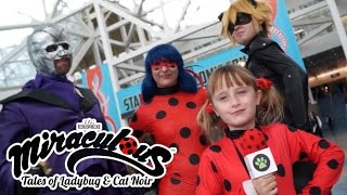 Miraculous Ladybug - Lindalee Visits Comic Con |  Tales of Ladybug & Cat Noir