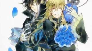 Pandora Hearts II Blindness II Vincent and Gilbert Nightray