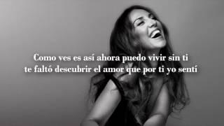 No voy a llorar - Mónica Naranjo (Letra)