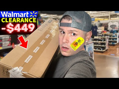 How I paid $90 for a Walmart Computer → Clearance Deals + Tips | Finding Hidden and Secret Prices