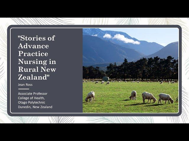 ニュージーランドのルーラル地域で活躍する高度実践看護師のストーリー