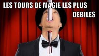 TOP 10 DES TOURS DE MAGIE LES PLUS DÉBILES