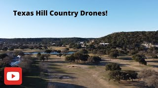 Flying a DRONE in the Texas HILL COUNTRY!