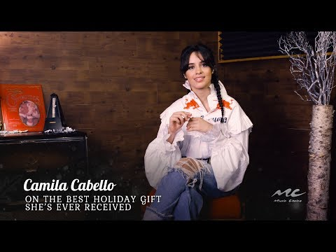 Camila Cabello on the Best Holiday Gift She's Received