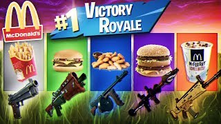 McDonalds HELPS ME WIN A GAME OF FORTNITE! *NOT CLICKBAIT* CRAZIEST SOLO RESULT!