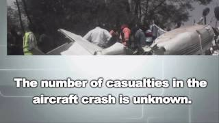 BREAKING NEWS: Aircraft headed for Kabarak crashes in Kibera Slum