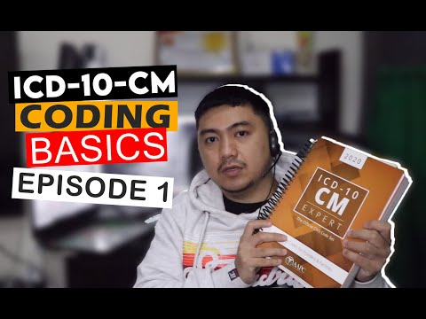 ICD-10-CM BASICS Episode 1 (ICD-10-CM Book Layout)