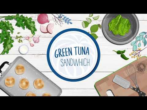 Green Goddess Tuna Sandwich by Royal Prestige®