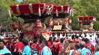 住吉神社(松陰) 布団太鼓