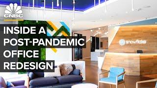 Как эта технологическая компания изменила дизайн своего офиса, чтобы заманить рабочих обратно