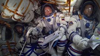 Soyuz ride into space | Kholo.pk