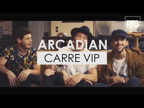 Arcadian l'interview Carre Vip sur RTS