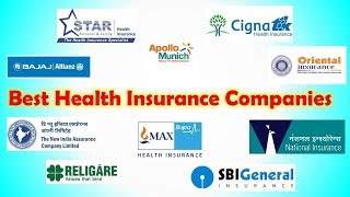 Best Health Insurance Companies in India