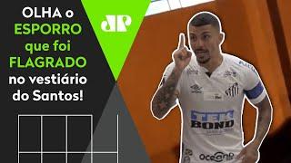 Vídeo do vestiário do Santos vaza e mostra bronca: 'Todo jogo você faz isso'