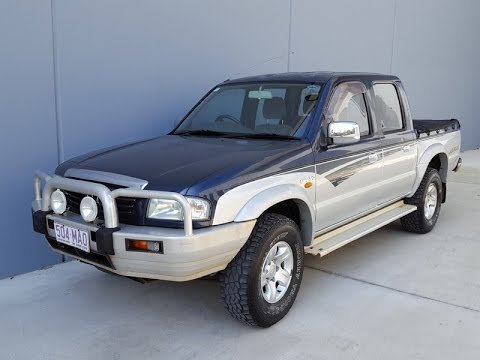 (SOLD) twin cab mazda B2600 ute review