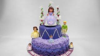 Princess Sofia Birthday Cake Ideas
