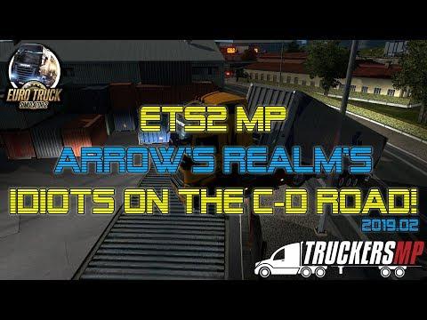 😜 Idiots on the C-D Road! 😜 :: Euro Truck Simulator 2