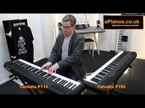 Yamaha P105 v P115 Comparison – What piano should I buy?
