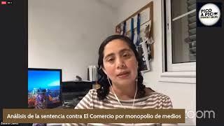 """SENTENCIAN AL MONOPOLIO """"EL COMERCIO"""" POR CONCENTRACIÓN DE MEDIOS"""
