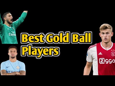 Download Best Gold Ball Players For Every Position Pes 2019 Mobile