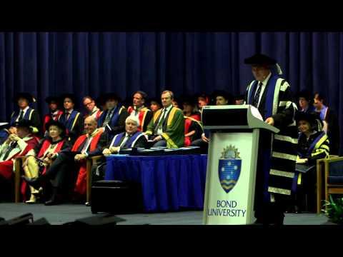 Bond University Graduation Ceremony February 2016 - Business & HSM