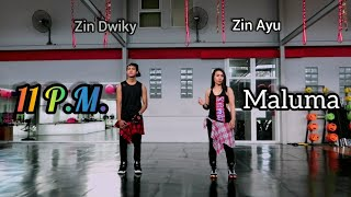Maluma   11 P.M. (Choreography) ZUMBA | FITNESS | At Boston's Gym Balikpapan