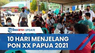 10 Hari Menjelang Gelaran PON XX, 16 Daerah di Papua Nol Kasus Covid-19 dan Relatif Stabil