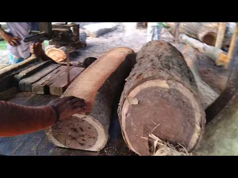 2 PCs Unknown Rear Wood Cutting for Making Single Bad। Wood Cutting for Make Furniture। Skilled Work