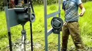 Perfuratriz #03 Maquina De Furar Poços Semi-artesiano