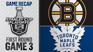 Бостон Брюинз - Торонто Мэйпл Лифс матч №3